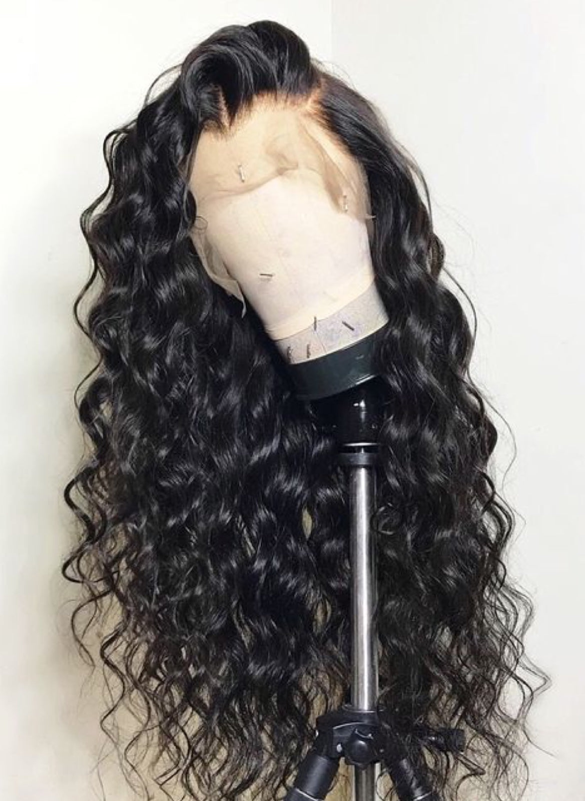 Tohyadd Full Lace Wig/Lace Front Wig Deep Wave Hair Natural Color