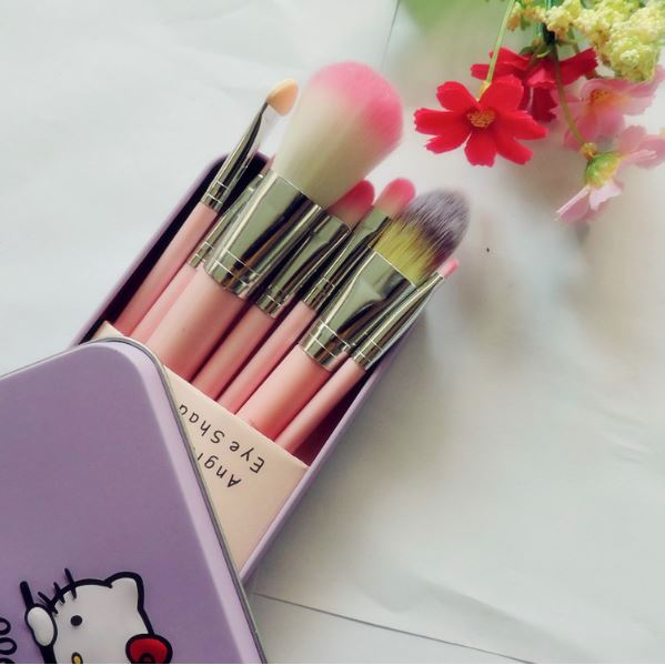 7pcs/Sets Face Professional Foundation Brushes Eyeshadow Lip Cometics