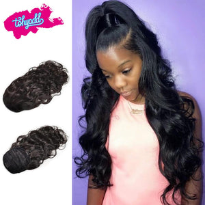 Tohyadd Ponytail Extensions 2/1 Pcs Natural Color