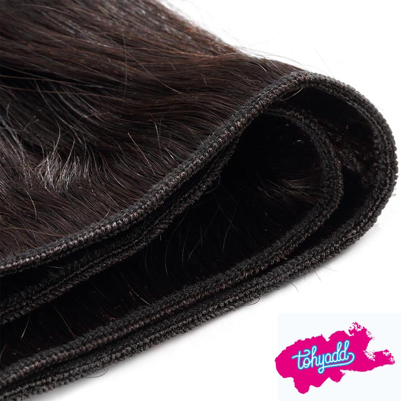 Tohyadd 4/3/2/1 Bundle Deals Straight Hair Natural Color