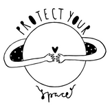 Protect Your Space ~ Unisex Organic Cotton Short Sleeve Tee