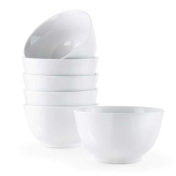 Gourmet Professional Gourmet Large Deep Bowl- Set of 6-20 oz - Amuse Home