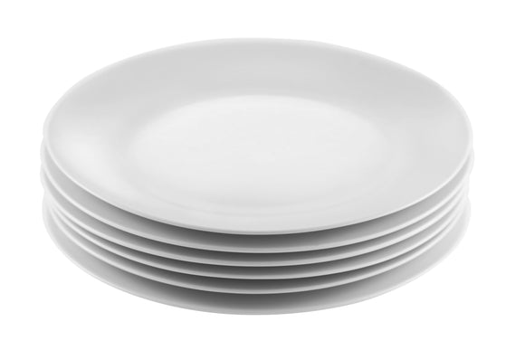 Gourmet Professional Porcelain Dinner Plate- Set of 6 - Amuse Home