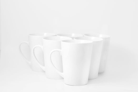 Bistro Collection Grande Mugs- Set of 6-18 oz - Amuse Home
