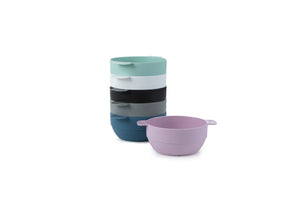 Unbreakable and Reusable Plastic Bowls- Set of 6 - Amuse Home