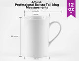 Professional Barista Classic Tall Mug- 12 oz. - Amuse Home