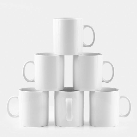 Professional Barista Classic Large Mug- Set of 6- 16 oz. - Amuse Home