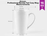 Professional Barista Large Cozy Tall Mug- 16 oz. - Amuse Home