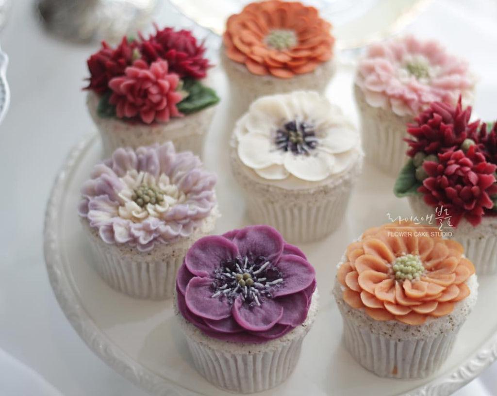 Rice Flower Cup Cake By Rice and Bloom, June 29