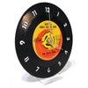 Vintage Recycled 45RPM Record Desk Clock