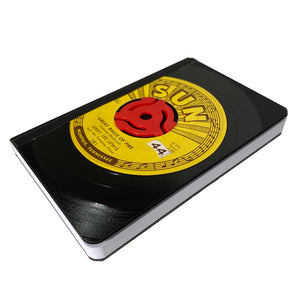 Vintage Vinyl 45RPM Pocket Journal