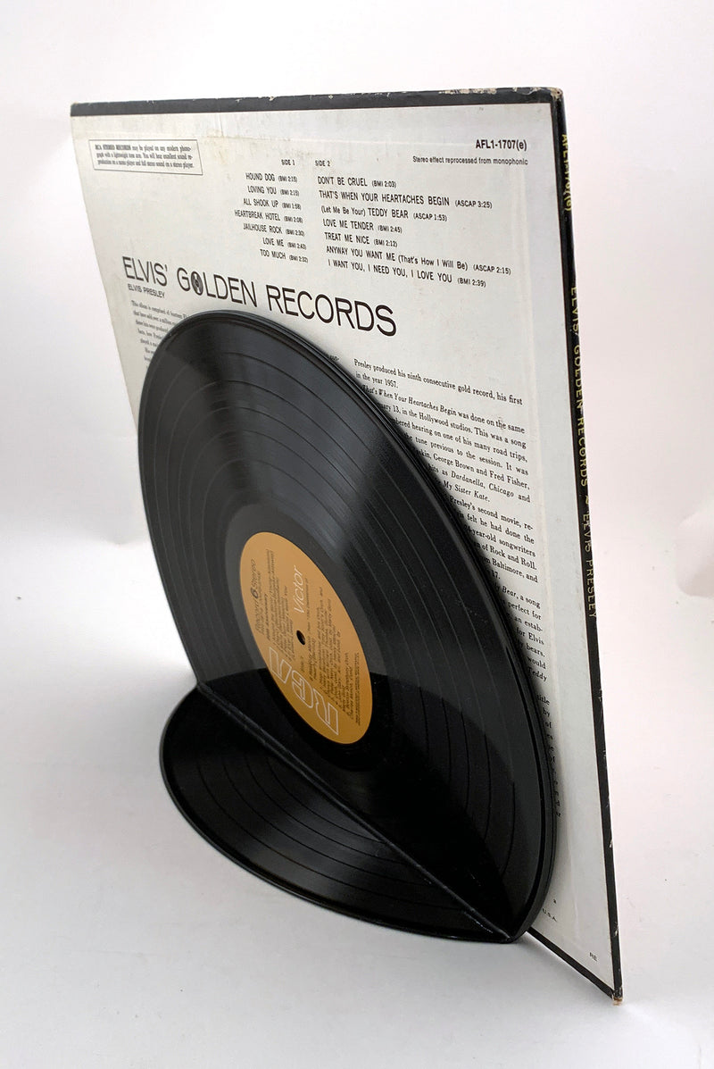Vintage Recycled Vinyl Record Album Cover Display Stand - Wholesale Case Pack of 6
