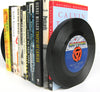 Vintage Recycled 45RPM Vinyl Record Bookends - Wholesale Case Pack of 3