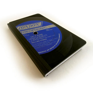 Vintage Vinyl LP Pocket Journal