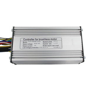 24/36V48V 350W/500W/750W 25A eBike Brushless DC Controller support Regenerative Function