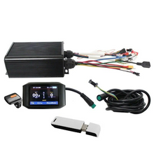 Load image into Gallery viewer, Electric Bike 36-72V 45A 1000W-2000W Controller+ Color LCD +Bluetooth Module