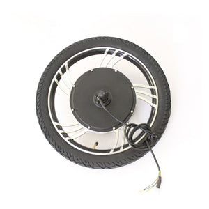 "36V 48V 500W 48V 750W Ebike 14"" 16"" 18"" 20"" Integral Front Wheel Conversion Kits"