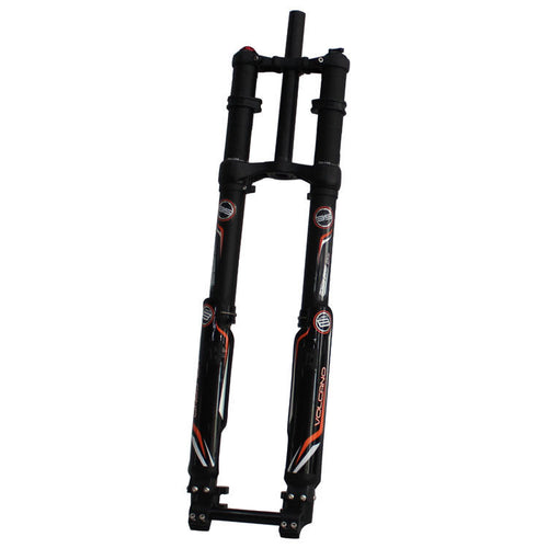 Suspension Fork Latest DNM USD-8S Triple Crown Downhill Air Fork 203mm 20mm Axle Dual Brake