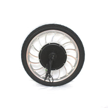 "Load image into Gallery viewer, 36V 48V 500W 48V 750W Ebike 14"" 16"" 18"" 20"" Integral Front Wheel Conversion Kits"