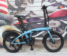"Load image into Gallery viewer, 2021 New Model 36V 350W Folding 20"" eBike with Seatpost Built-in Battery, Light Weight"