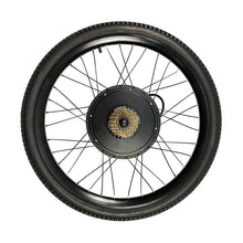 "Load image into Gallery viewer, EU Free Shipping EU Duty Free 36V 1200W 48V 1500W Ebike Bicycle Rear Wheel Conversion Kits 26"" 27.5'' 29er"