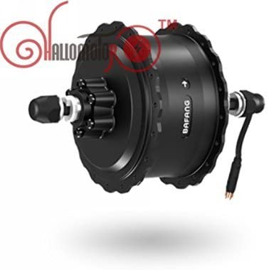 36V 48V High Speed Brushless Geared DC Fat Bikecas Cassette or Threaded Rear Hub Motor