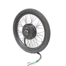 "Load image into Gallery viewer, Duty Free Electric Bike 48V 60V 72V 3000W-5000W 26"" Rear Wheel Conversion kit"
