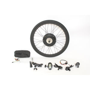 "36V 1200W 48V 1500W Powerful Ebike 20"" 24"" 26"" 27.5"" 700C 28"" 29er Rear Wheel Conversion Kits"