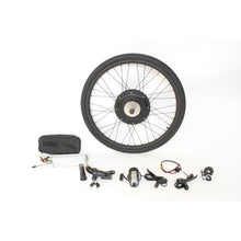 "Load image into Gallery viewer, 36V 48V 500W 48V 750W Powerful Ebike 20"" 24"" 26"" 27.5"" 700C 28"" 29er Rear Wheel Conversion Kits"
