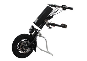 36V 250W e-Tractor Attachment 12'' Handbike Kits+9AH Battery For Electric Wheelchair