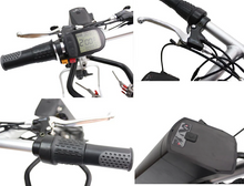 Load image into Gallery viewer, 36V 250W e-Tractor Attachment 12'' Handbike Kits+9AH Battery For Electric Wheelchair