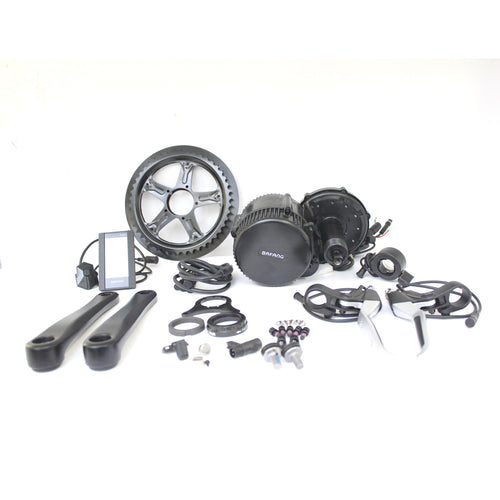 48V 750W BBS02 Bafang 8fun Mid Drive Central Motor Electric Bike Conversion Kits