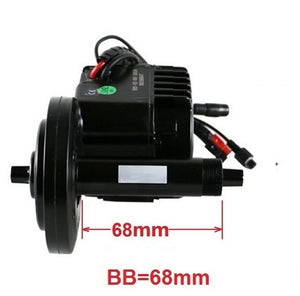 36V 250W BBS01 Bafang 8fun Mid Drive Central Motor Electric Bike Conversion Kit with 68mm BB