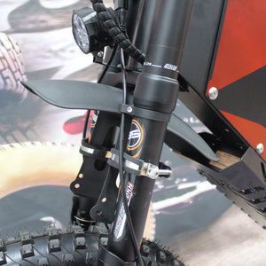 Mudguard Fender for our powerful FC-1 Stealth Bomber ebike
