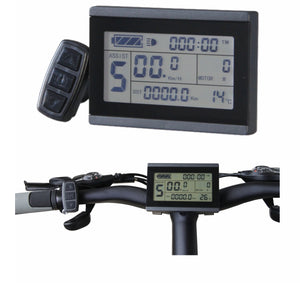 24V/36V/48V Ebike Intelligent LCD Control Panel LCD3 Display for our Controller