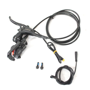 HalloMotor Unique Dual Front Calipers Hydraulic Disc Brake Kits with two front Calipers