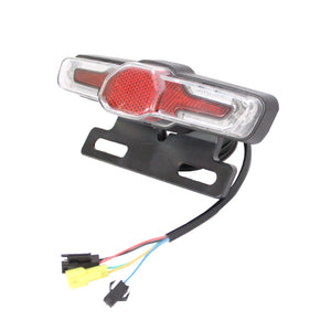 36V 48V 60V eBike Headlight Tail Rear Lights LED Brake Light Electric Bike Light