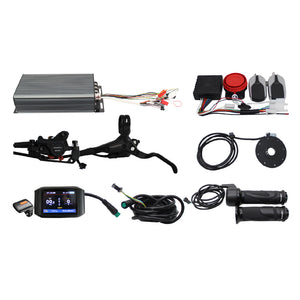 48V-72V 3300W-5000W High Power Speed Ebike Conversion Kit for Electric Bike +Intelligent Control System With Bluetooth Module