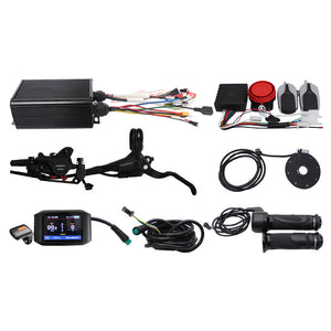 36V-72V 1500W Powerful Ebike Conversion Kits for Electric Bike+Colorful LCD +Intelligent Control System