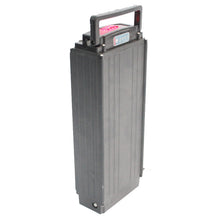Load image into Gallery viewer, 48V 17.5AH 21AH 24.5AH 28AH 31.5AH Samsung Rear Carrier Flat Case Lithium Battery