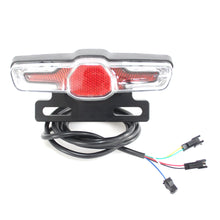 Load image into Gallery viewer, 36V 48V 60V eBike Headlight Tail Rear Lights LED Brake Light Electric Bike Light