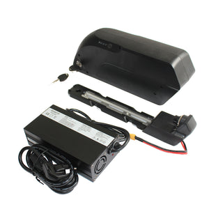 36V 14.5AH 17.4AH Panasonic TigerShark Frame Case Lithium Battery