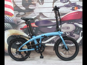 "2021 New Model 36V 350W Folding 20"" eBike with Seatpost Built-in Battery, Light Weight"