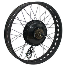"Load image into Gallery viewer, 36V 750W 48V 1000W 48V 1500W Powerful 24x4.0"" Fat Wheel Ebike Brushless Gearless Motor Wheel Only"