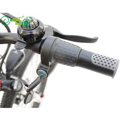 eBike 12-90V Universal Voltage Half-bar Twist Throttle with Lock