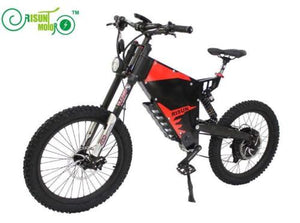 Exclusive Customize FC-1 Ebike Strong Steel Frame Fit 72V 3000W 5000W Power Mountain Ebike