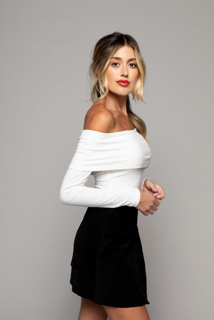Penelope Long Sleeve - Winter White