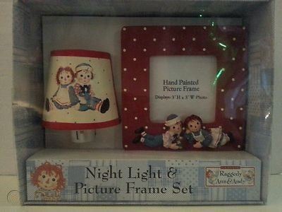 Night light & picture frame