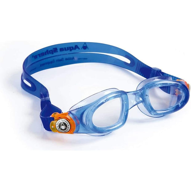 Aqua Sphere Moby Kids Junior Goggles - Blue