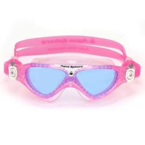 Aqua Sphere Vista Junior Pink and White
